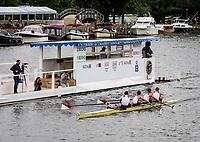 Henley Royal Regatta, Henley on Thames, Oxfordshire, 28 June - 2 July 2017.  Wednesday  17:57:39   28/06/2017  [Mandatory Credit/Intersport Images]<br /> <br /> Rowing, Henley Reach, Henley Royal Regatta.<br /> <br /> The Prince Albert Challenge Cup<br />  Boston University, U.S.A.