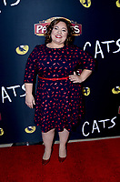 """LOS ANGELES - FEB 27:  Emily Nelson at the """"Cats"""" Play Opening at the Pantages Theater on February 27, 2019 in Los Angeles, CA"""