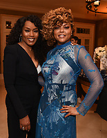 2020 FOX WINTER TCA: L-R: 9-1-1 cast member Angela Bassett and EMPIRE cast member Taraji P. Henson celebrate at the FOX WINTER TCA ALL-STAR PARTY during the 2020 FOX WINTER TCA at the Langham Hotel, Tuesday, Jan. 7 in Pasadena, CA. © 2020 Fox Media LLC. CR: Frank Micelotta/FOX/PictureGroup