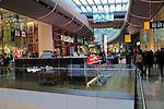 Shopping mall inside Westfield shopping centre, Stratford, London, England, UK