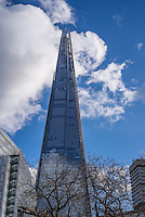 The Shard, an 87 storey skyscraper in London.