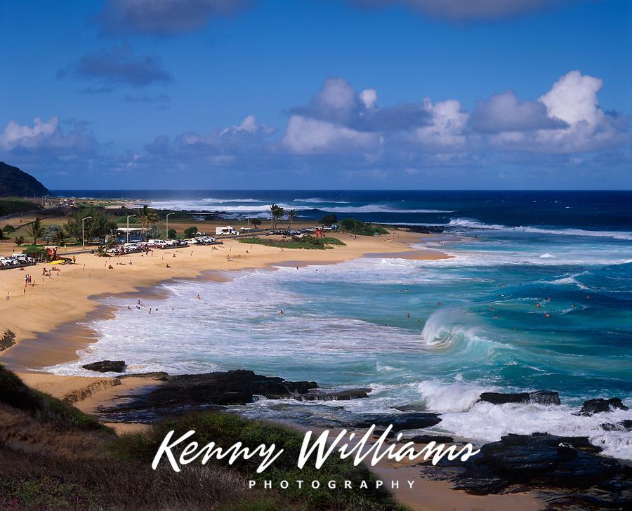 Sandy Beach Park, Oahu, Hawaii, USA.