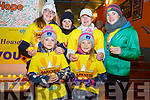 Taking part in the Darkness into Light walk in Cahersiveen on Saturday morning were front l-r; Rihanna Kelly, licia Kelly, back l-r; Selina Egan, Margaret O'Driscoll, Lisa Kelly & Mairead O'Driscoll.