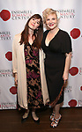 "Angelica Page and daughter attends the Opening Night Party for ""Because I Could Not Stop: An Encounter with Emily Dickinson"" at the West Bank Cafe on September 27, 2018 in New York City."