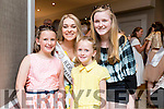 Danielle O'Sullivan, Kerry Rose with  Jocelyn and Sabra Hickey and Alison Carroll, Killarney at the Rose of Tralee Hotel on Tuesday Evening.