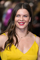 "Abbie Scott<br /> arriving for the ""Captain Marvel"" European premiere at the Curzon Mayfair, London<br /> <br /> ©Ash Knotek  D3484  27/02/2019"