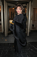 Dame Joan Collins at the Shooting Star CHASE Ball, The Dorchester Hotel, Park Lane, London, England, UK, on Saturday 30 September 2017.<br /> CAP/CAN<br /> &copy;CAN/Capital Pictures /MediaPunch ***NORTH AND SOUTH AMERICAS ONLY***