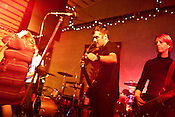 November 07, 2009. Durham, North Carolina.. The Troika music festival with Red Collar at the Trotter building.