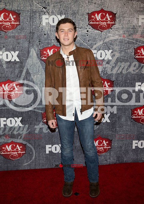 LAS VEGAS, NV - December 10 : Scotty McCreery pictured arriving at 2012 American Country Awards at Mandalay Bay Resort on ecember 10, 2012 in Las Vegas, Nevada.  Credit: Kabik/ Starlitepics/MediaPunch Inc. /NortePhoto© /NortePhoto /NortePhoto