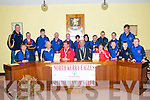 Civic Reception: Certificates were presented by the Mayor of Listowel, Cllr Tony  Curtin to Tom Windle & Sinead Joy to honour their achievements at Special Olympics Munster where they both won medals, at a Civic reception in Aras an Phiarsaigh, Listowel on Monday evening last. Certificates were also presented to their coach Martin Trench and Chair person of the North  Kerry Eagle Special Olympics Club Kitty Windle. ..Front : Kathleen Faley, Kitty Windle, Toim Windle, Mayor Curtin, Sinead Joy, Sean White, JP McNamara & Dale O'Connor. ..Back : Martin Trench, Stephen Faley, Sean McCarthy,William O'Connell, John Kissane, Bronagh Enright, Antoinette O'Sullivan, Johnny Mulvihill, Bredan O'Sullivan, Maurice Flavin & Edward Twomey.