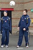 - Sweden's Under 20 team warmed up outside Mullins Center prior to their game versus UMass on Saturday, November 6, 2010, in Amherst, Massachusetts.