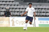 Reece James of Chelsea and England in action during Chile Under-21 vs England Under-20, Tournoi Maurice Revello Football at Stade Parsemain on 7th June 2019