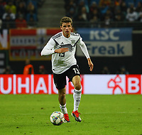 Thomas Mueller (Deutschland Germany) - 15.11.2018: Deutschland vs. Russland, Red Bull Arena Leipzig, Freundschaftsspiel DISCLAIMER: DFB regulations prohibit any use of photographs as image sequences and/or quasi-video.