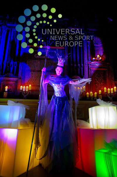 .The City of Edinburgh Council launch their plans for this year's Christmas events which will include a a 14m high Snow Queen, the events programe will run over six weeks, Edinburgh, Scotland, 8th November, 2011.Picture:Scott Taylor Universal News And Sport (Europe) .All pictures must be credited to www.universalnewsandsport.com. (Office)0844 884 51 22.
