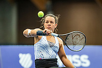 Alphen aan den Rijn, Netherlands, December 18, 2019, TV Nieuwe Sloot,  NK Tennis, Wheelchair womans doubles: Marjolein Buis (NED) <br /> Photo: www.tennisimages.com/Henk Koster