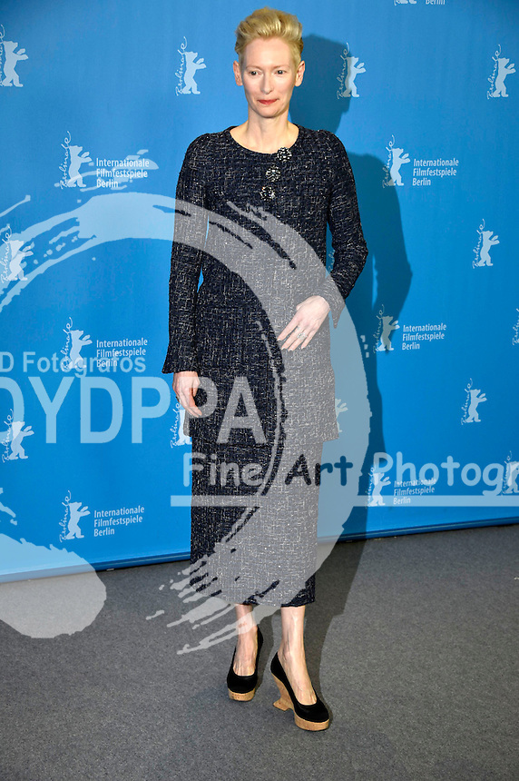 Tilda Swinton during the 'Hail Caesar!' photocall at the 66th Berlin International Film Festival / Berlinale 2016 on February 11, 2016 in Berlin, Germany.