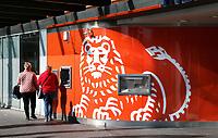 Nederland Hoofddorp  2017.  Geld pinnen bij de ING bank.  Foto Berlinda van Dam / Hollandse Hoogte