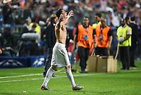 FUSSBALL  CHAMPIONS LEAGUE  FINALE  SAISON 2013/2014  24.05.2013 Real Madrid - Atletico Madrid JUBEL Cristiano Ronaldo (Real Madrid)