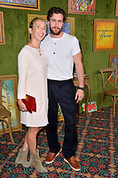 LOS ANGELES, CA. October 04, 2018: Aaron Taylor-Johnson &amp; Sam Taylor-Johnson at the Los Angeles premiere for &quot;My Dinner With Herve&quot; at Paramount Studios.<br /> Picture: Paul Smith/Featureflash
