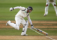 NZ's Daniel Flynn makes his ground during day four of the 3rd test between the New Zealand Black Caps and India at Allied Prime Basin Reserve, Wellington, New Zealand on Monday, 6 April 2009. Photo: Dave Lintott / lintottphoto.co.nz.