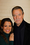 Melissa Claire Egan & Eric Braeden - The Young and The Restless - Genoa City Live celebrating over 40 years with on February 27. 2016 at The Lyric Opera House, Baltimore, Maryland on stage with questions and answers followed with autographs and photos in the theater.  (Photo by Sue Coflin/Max Photos)