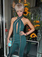 Harriet Elizabeth &quot;Hatty&quot; Keane at the Limonbello new Italian liquor launch party, The Club at The Ivy, West Street, London, England, UK, on Wednesday 20 July 2016.<br /> CAP/CAN<br /> &copy;CAN/Capital Pictures /MediaPunch ***NORTH AND SOUTH AMERICAS ONLY***