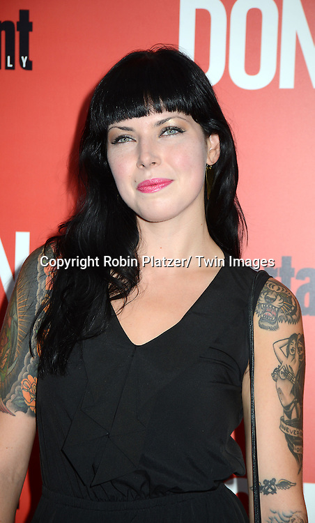 """Alexis Krauss attends the """"Don Jon"""" New York Movie Premiere on September 12, 2013 at the SVA Theatre in New York City."""