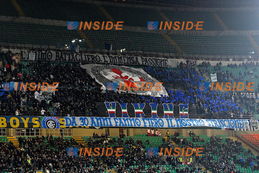 Coreografia tifosi Inter<br /> Milano 29-10-2014 Stadio Giuseppe Meazza - Football Calcio Serie A Inter - Sampdoria. Foto Giuseppe Celeste / Insidefoto