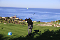 Phil Mickelson (USA) tees off the par3 3rd tee at Spyglass Hill during Thursday's Round 1 of the 2018 AT&amp;T Pebble Beach Pro-Am, held over 3 courses Pebble Beach, Spyglass Hill and Monterey, California, USA. 8th February 2018.<br /> Picture: Eoin Clarke | Golffile<br /> <br /> <br /> All photos usage must carry mandatory copyright credit (&copy; Golffile | Eoin Clarke)