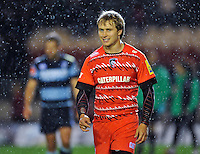 Matthew Tait looks on after the final whistle. Pre-season friendly match, between Leicester Tigers and Cardiff Blues on August 29, 2014 at Welford Road in Leicester, England. Photo by: Patrick Khachfe / JMP