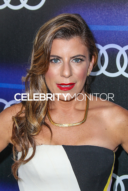 WEST HOLLYWOOD, CA, USA - AUGUST 21: Michelle Pesche arrives at the Audi Emmy Week Celebration held at Cecconi's Restaurant on August 21, 2014 in West Hollywood, California, United States. (Photo by Xavier Collin/Celebrity Monitor)