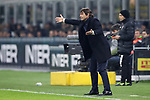 Antonio Conte Head coach of Inter reacts during the Coppa Italia match at Giuseppe Meazza, Milan. Picture date: 14th January 2020. Picture credit should read: Jonathan Moscrop/Sportimage