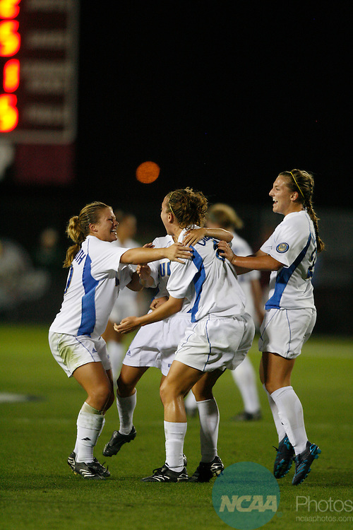2007 DEC 07:  UCLA plays the University of Southern California in the semifinals of the Division I Women's Soccer tournament at Aggie Soccer Stadium at Texas A&M University in College Station, TX.  Trevor Brown, Jr./NCAA Photos.