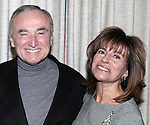"William Bratton and Rikki Klieman attending the press reception for ""Songs My Mother Taught Me: The Judy Garland Songbook"" at Feinsteins in New York City."