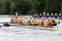 MasE.8+ SF -  Berks: 17 Grosvenor/Royal Chester Composite -  Bucks: 18 HRV Bollerg/Nelson Composite (GER)<br /> <br /> Friday - Henley Masters Regatta 2016<br /> <br /> To purchase this photo, or to see pricing information for Prints and Downloads, click the blue 'Add to Cart' button at the top-right of the page.