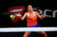 Suzy Larkin. 2017 Wellington Open tennis championship at Renouf Tennis Centre in Wellington, New Zealand on Thursday, 21 December 2017. Photo: Dave Lintott / lintottphoto.co.nz