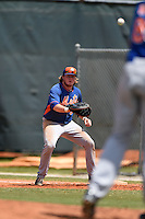 New York Mets Dash Winningham (35) during a minor league spring training game against the Miami Marlins on March 30, 2015 at the Roger Dean Complex in Jupiter, Florida.  (Mike Janes/Four Seam Images)