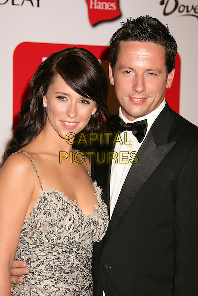 JENNIFER LOVE HEWITT & ROSS McCALL.The TV Guide After Party following the 58th Annual Primetime Emmy Awards, Los Angeles, California, USA..August 27th, 2006.Ref: ADM/BP.full length silver grey gray jewel encrusted dress .www.capitalpictures.com.sales@capitalpictures.com.©Byron Purvis/AdMedia/Capital Pictures.