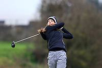 Luisa Lilian Vogt (Germany) during the Irish Girls' Open Stroke Play Championship, Roganstown Golf Club, Swords, Ireland. 13/04/2018.<br /> Picture: Golffile | Fran Caffrey<br /> <br /> <br /> All photo usage must carry mandatory copyright credit (&copy; Golffile | Fran Caffrey)