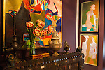 The Kips Bay Decorator Show House invited twenty one designers and architects to transform a luxury Manhattan townhouse for a benefit to the Kips Bay Boys & Girls Club. <br /> <br /> Pictured, design by Kati Curtis Designs<br /> <br /> Danny Ghitis for The New York Times