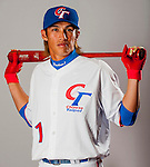 Yang, Dai-Kang of Team Chinese Taipei poses during WBC Photo Day on February 25, 2013 in Taichung, Taiwan. Photo by Victor Fraile / The Power of Sport Images