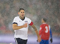 Commerce City,  Co - Friday, March 22, 2013: USA 1-0 over Costa Rica at Dick's Sporting Goods Park during World Cup Qualifying. Clint Dempsey celebrates his goal.