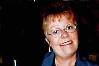 Pictured: Undated handout picture of Margaret Llewellyn<br /> Re: Human remains discovered at a quarry have been identified by police.<br /> Gwent Police say they belong to Margaret Llewellyn who was reported missing from her Chepstow home in 2002.<br /> The grandmother's family have issued several appeals for information since she disappeared nearly 14 years ago.<br /> She went missing from her home in Middle Way, Bulwark, on May 6 2002, when her husband David went out to walk their dog.<br /> A major search of the area was carried out, but no trace of Mrs Llewellyn was ever found.