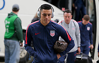 Cary, N.C. - Tuesday March 27, 2018: Rubio Rubin during an International friendly game between the men's national teams of the United States (USA) and Paraguay (PAR) at Sahlen's Stadium at WakeMed Soccer Park.