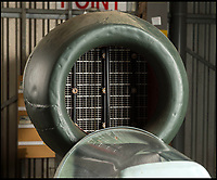 BNPS.co.uk (01202 558833)<br /> Pic: PhilYeomans/BNPS<br /> <br /> The proximity of the engine intake made bailing out impossible.<br /> <br /> An incredibly-rare Kamikaze-version of Adolf Hitler's deadly V1 terror weapon is about to go on display at a British museum 47 years after it was saved from destruction.<br /> <br /> The piloted 'Doodlebug' was effectively a one ton suicide bomb designed to strike at specific targets like Buckingham Palace and the Houses of Parliament.<br /> <br /> Unlike the extremely inaccurate unmanned version, these V1's were designed to be dropped from Heinkel bombers and then piloted directly onto their targets, but fortunately although 175 were made they were never put to use.<br /> <br /> One of the handfull that exist today belongs to the Lashenden Aviation Museum in Kent which have spent &pound;40,000 having it restored and are about to put it on display in a new purpose built hangar.
