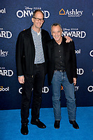 """LOS ANGELES, CA: 18, 2020: Pete Docter & Jim Morris at the world premiere of """"Onward"""" at the El Capitan Theatre.<br /> Picture: Paul Smith/Featureflash"""