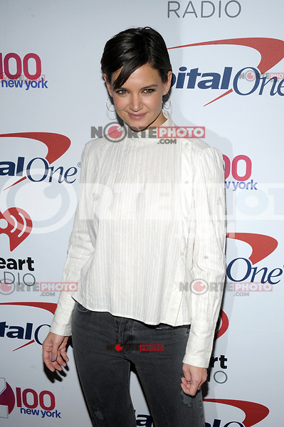 NEW YORK, NY - DECEMBER 8: Katie Holmes at Z100's Jingle Ball 2017 at Madison Square Garden in New York City, Credit: John Palmer/MediaPunch /nortephoto.com NORTEPHOTOMEXICO