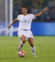 Shannon Boxx. The USWNT defeated Brazil, 1-0, to win the gold medal during the 2008 Beijing Olympics at Workers' Stadium in Beijing, China.
