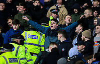 Police enter the stand as Bolton Wanderers fans protest<br /> <br /> Photographer Alex Dodd/CameraSport<br /> <br /> The EFL Sky Bet Championship - Bolton Wanderers v West Bromwich Albion - Monday 21st January 2019 - University of Bolton Stadium - Bolton<br /> <br /> World Copyright © 2019 CameraSport. All rights reserved. 43 Linden Ave. Countesthorpe. Leicester. England. LE8 5PG - Tel: +44 (0) 116 277 4147 - admin@camerasport.com - www.camerasport.com