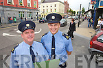 Gardai Pat Rice and Garda John Gilmartin